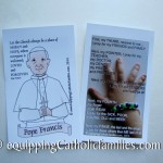 Rome Day Seven: our new Pope Francis Prayer Card!