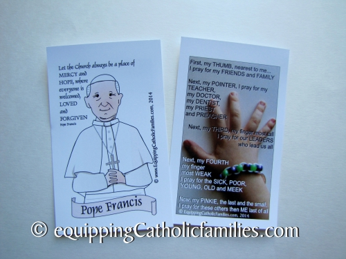 Rome Pilgrimage Card Equipping Catholic Families