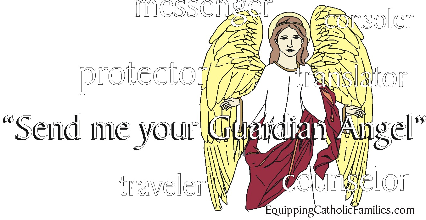 Feast Day Fun: Guardian Angels