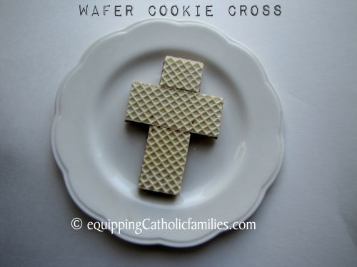 wafer cookie cross 2