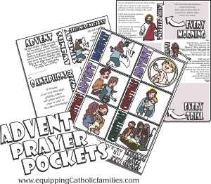 Advent Prayer Pockets sneak peak