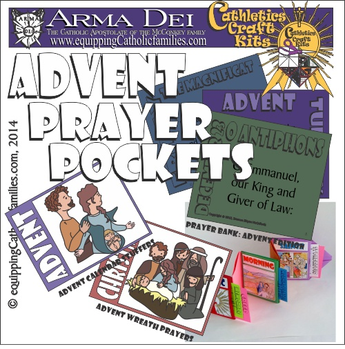 Advent Prayer Pockets: NEW Cathletics Craft Kit!