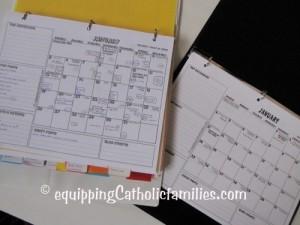 Blog Planner Calendar