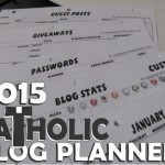 NEW Catholic Blog Planner for 2015!