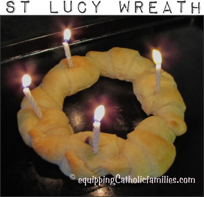 St Lucy Wreath