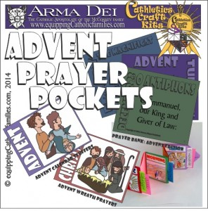 Advent Prayer Pockets