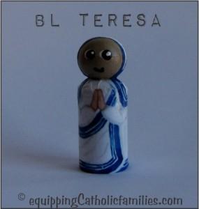 Bl Teresa Decoupage Saint