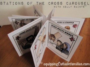 Stations of the Cross Carousel with Kelly Saints