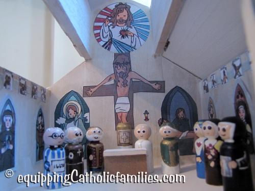 communion of painted saints