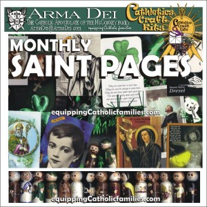 monthly saint pages