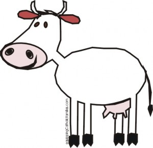 st brigid cow