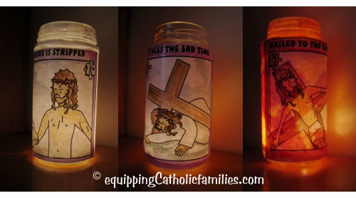 Stations of the Cross Votive candles