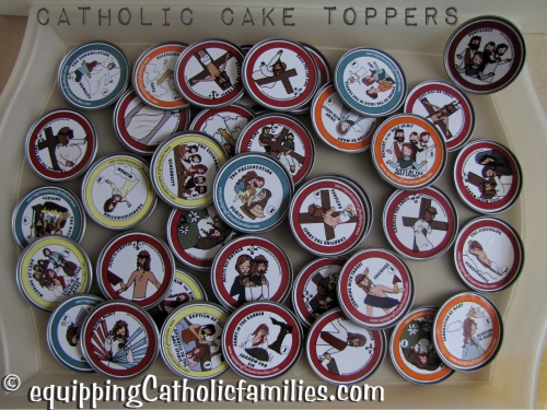 clinkable cake toppers catholic