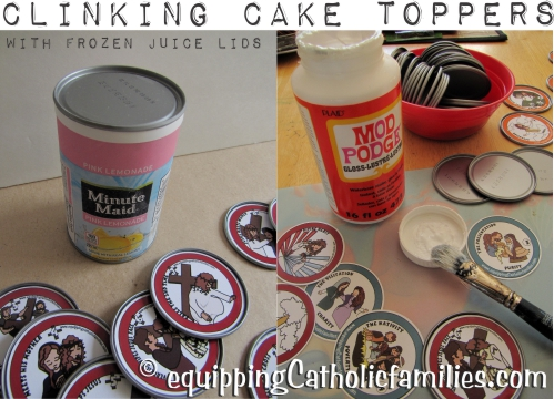 clinking cake toppers rgb