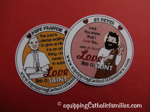 love like Pope Francis St Peter