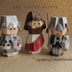 Egg Carton Passion Play Crafts for Holy Week