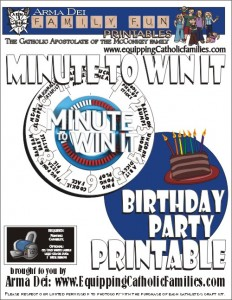 Minute to win it cover