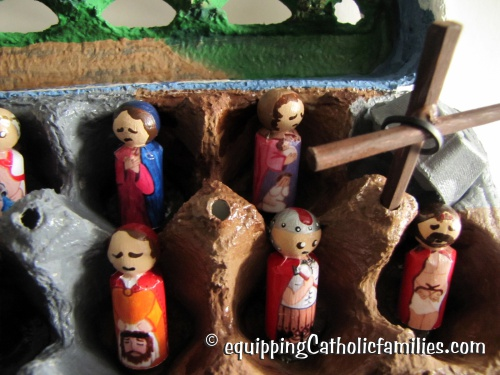 Passion Play in an Egg Carton