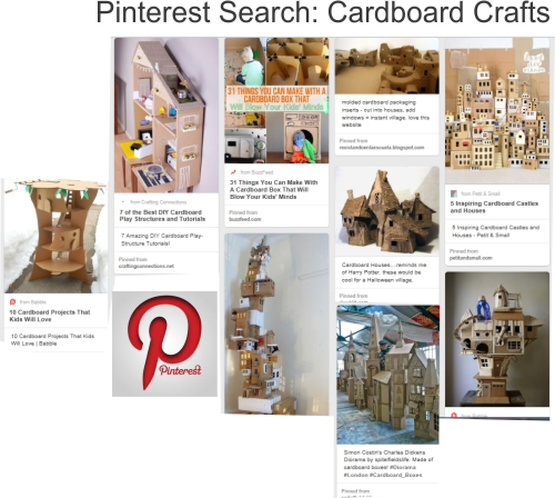 Pinterest Cardboard Crafts