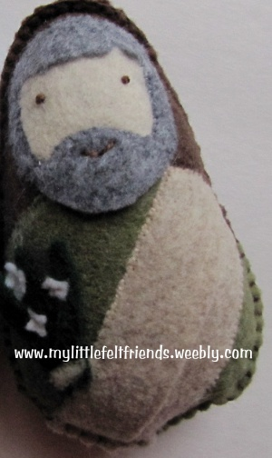 my felt friends St Joseph