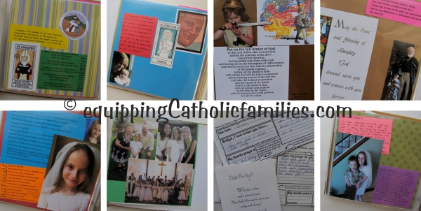 Bridget First Communion Scrapbook