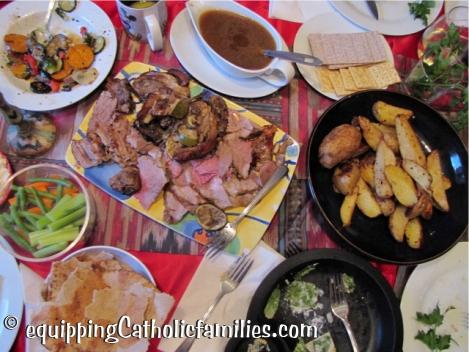 Seder Supper food
