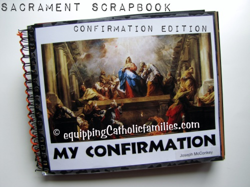 Sacrament Scrapbook Confirmation