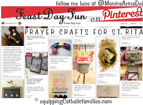 St Rita Prayer Crafts