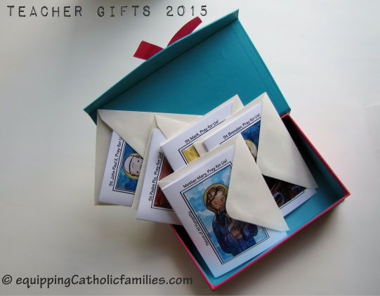 Teacher Gifts: All Occasion Saints Cards!