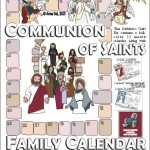 Summer Project! Communion of Saints Family Calendar