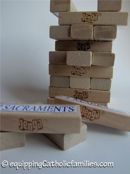 Catholic Jenga