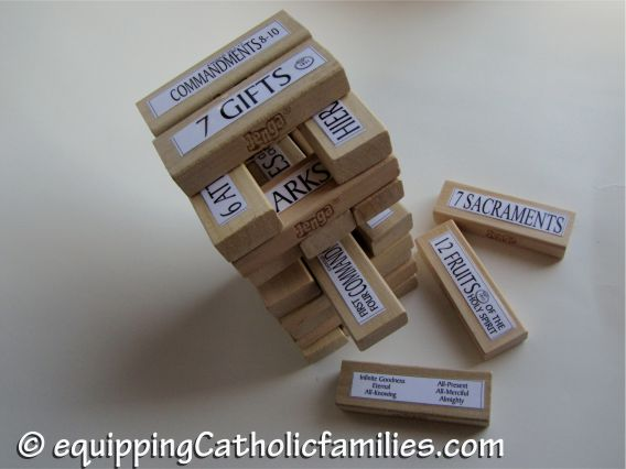 Jenga converted to Catholic