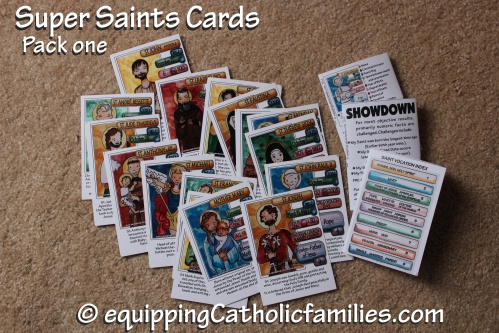 Super Saints Cards in PRINT!