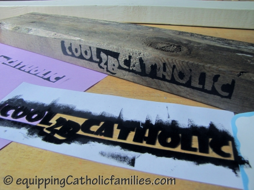 cool 2 b catholic stamps