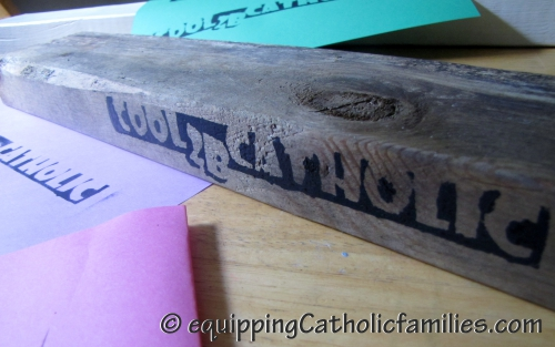 Cool 2B Catholic Stamping