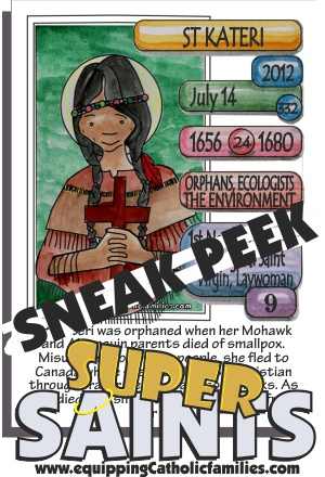 sneak peek St Kateri