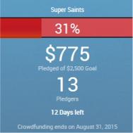 Super Saints fund