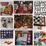 Saints Craft Kits for All Saints Parties
