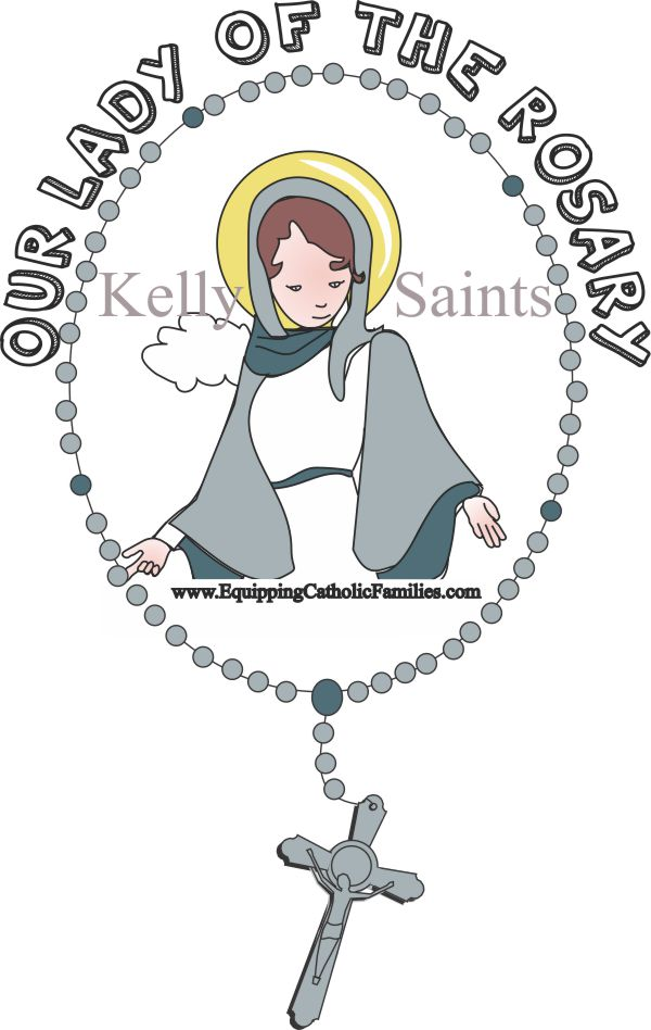 Feast Day Fun: Our Lady of the Rosary!