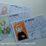Quiet Craft for All Saints Party…or Month of November!
