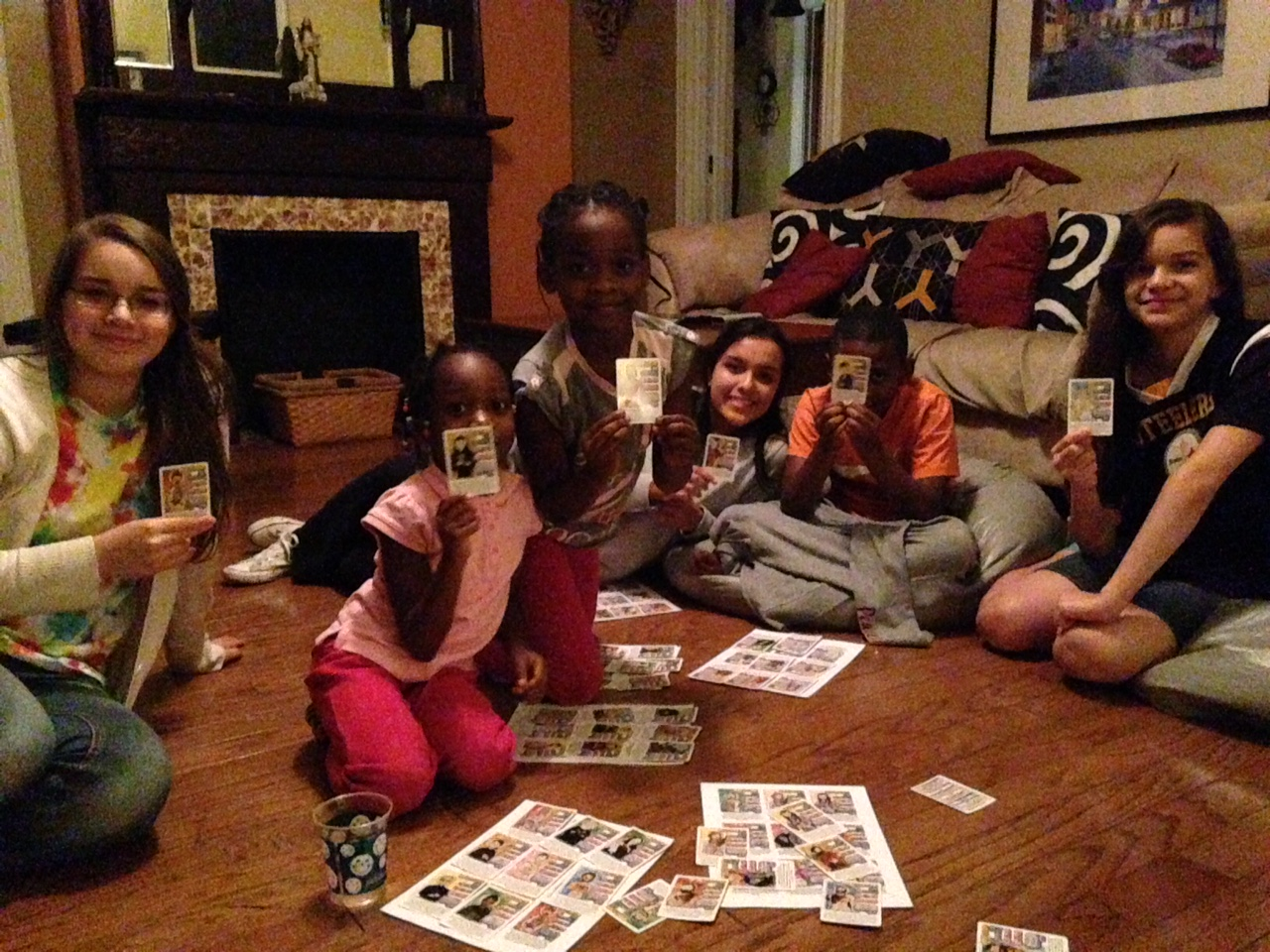 Xhonane family playing Super Saints
