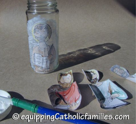 making the evangelists votive