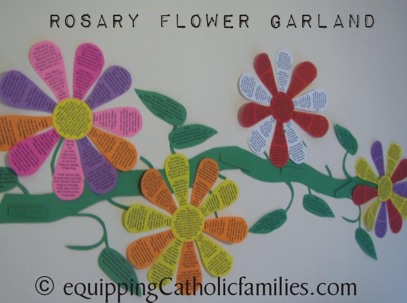 spiritual-bouquet-rosary-garland