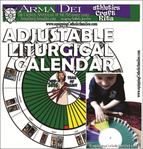 Adjustable Liturgical Calendar cover