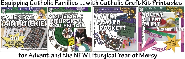 Advent and Liturgical Year Printables Arma Dei