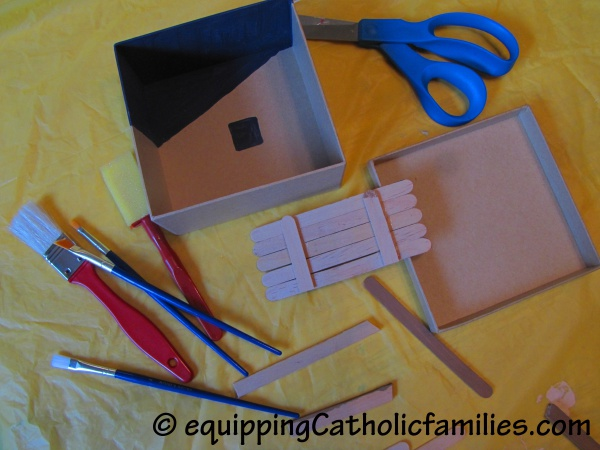 Nativity Box Construction2
