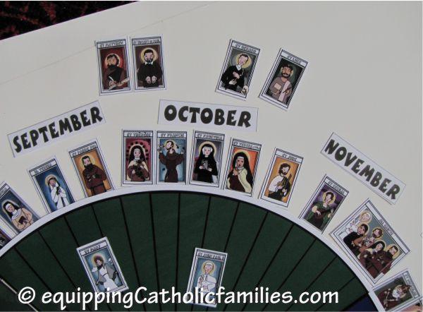 October liturgical calendar