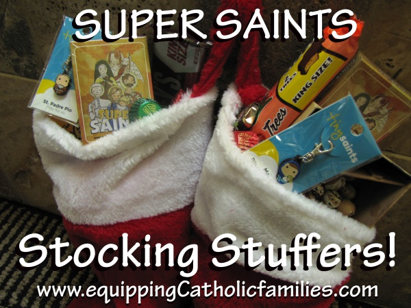 Super Saints Stocking Stuffers