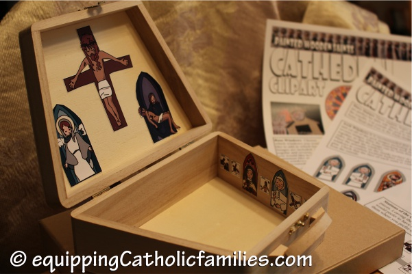 Cathedral Clipart in a Craft Box