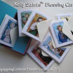 Reprintable stash of Catholic Greeting Cards…at the ready? NEW Craft Kit!